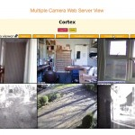 Multiple Cameras Page from Web Server